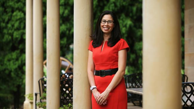 Leesa Kwok didn't understand the extent of her partner Jamie Tanner's problems when they first met. Picture: Toby Zerna