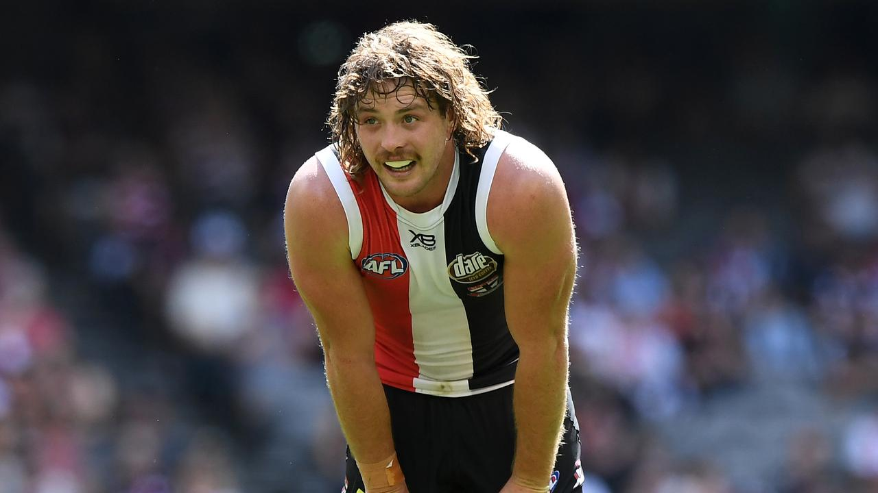 St Kilda's Jack Steven won't face Hawthorn on Sunday.