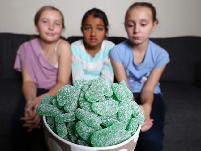 """""""When I was a little girl, we had these wonderful lollies called Spearmint Leaves."""""""