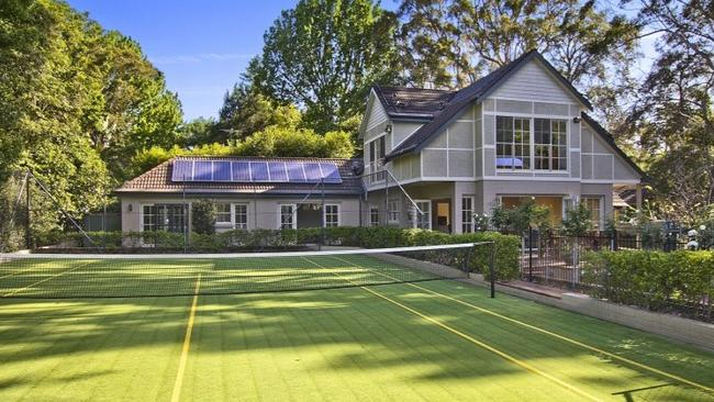 Australia S Best Homes With Backyard Tennis Courts