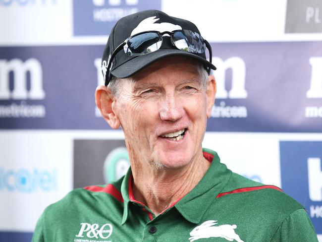 It looks like Wayne Bennett is enjoying himself down south though.