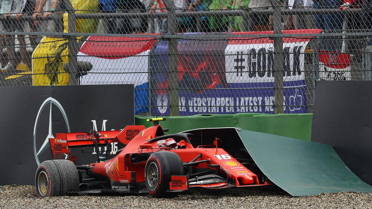 Leclerc was on for a Hockenheim win, but threw it away.