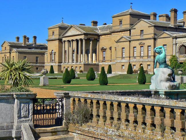 The majestic Holkham Hall where Lady Anne's friendship with the Queen and Princess Margaret was born. Picture: Supplied