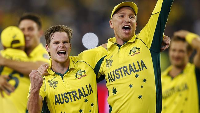 Brad Haddin won the World Cup with Australia in 2015.