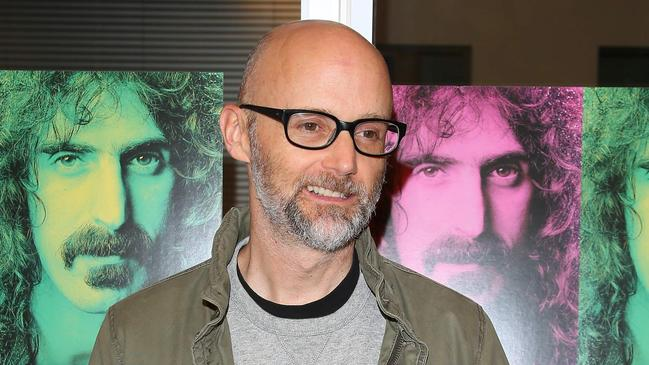 Moby turned his life around after battling alcoholism. Picture: AFP
