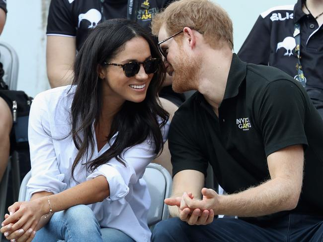 The loved-up pair made their first official appearance at the Toronto Invictus Games. Picture: Chris Jackson/Getty Images for the Invictus Games Foundation