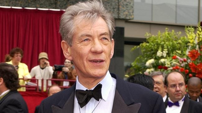 McKellan at the Oscars in 2002. Picture: AP PicLaura/Rauch)