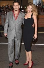 """Actor Johnny Depp and Actress Amber Heard attend the """"Black Mass"""" premiere during the 2015 Toronto International Film Festival at The Elgin on September 14, 2015. Picture: Jason Merritt/Getty Images"""