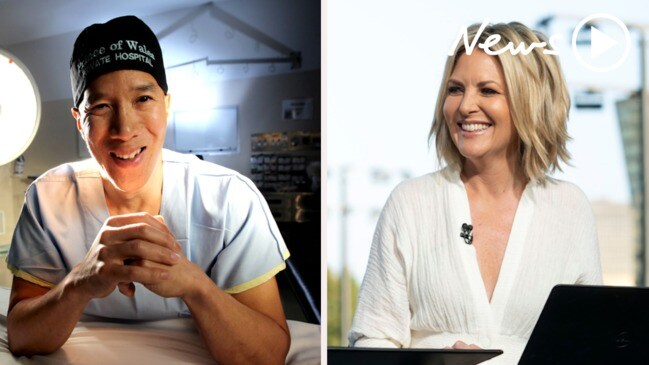 Heated debate between Dr Charlie Teo and Today host Georgie Gardner