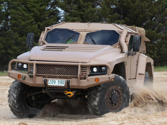 The Hawkei protected mobility vehicle. Pic: Supplied