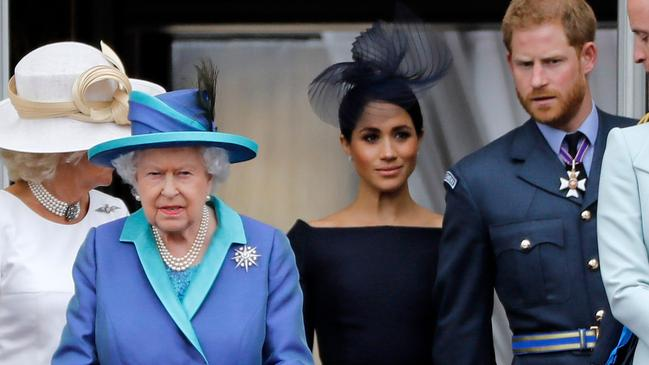 The Queen was reportedly blindsided by the news. Picture: Tolga Akmen/AFP
