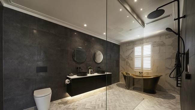It was suggested the bathroom could 'wipe out' potential buyers. Source: The Block