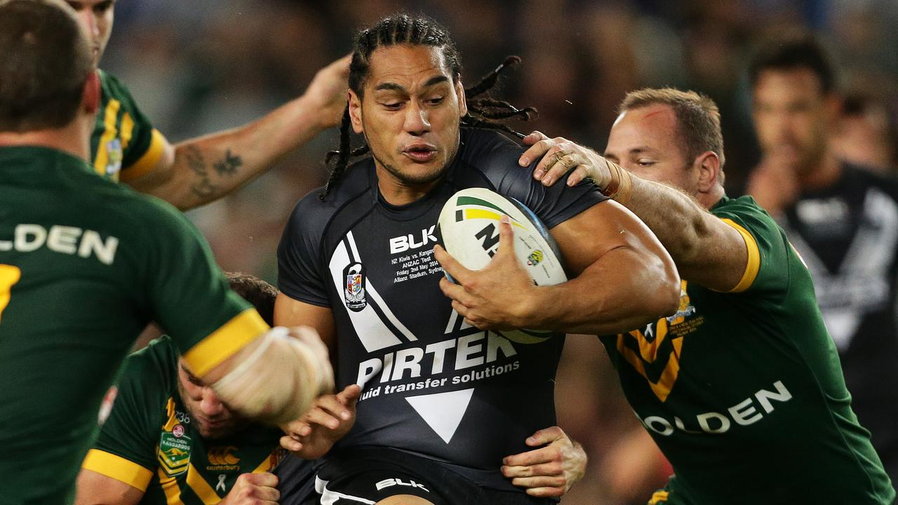 Martin Taupau played 24 Tests for NZ. Pic Brett Costello