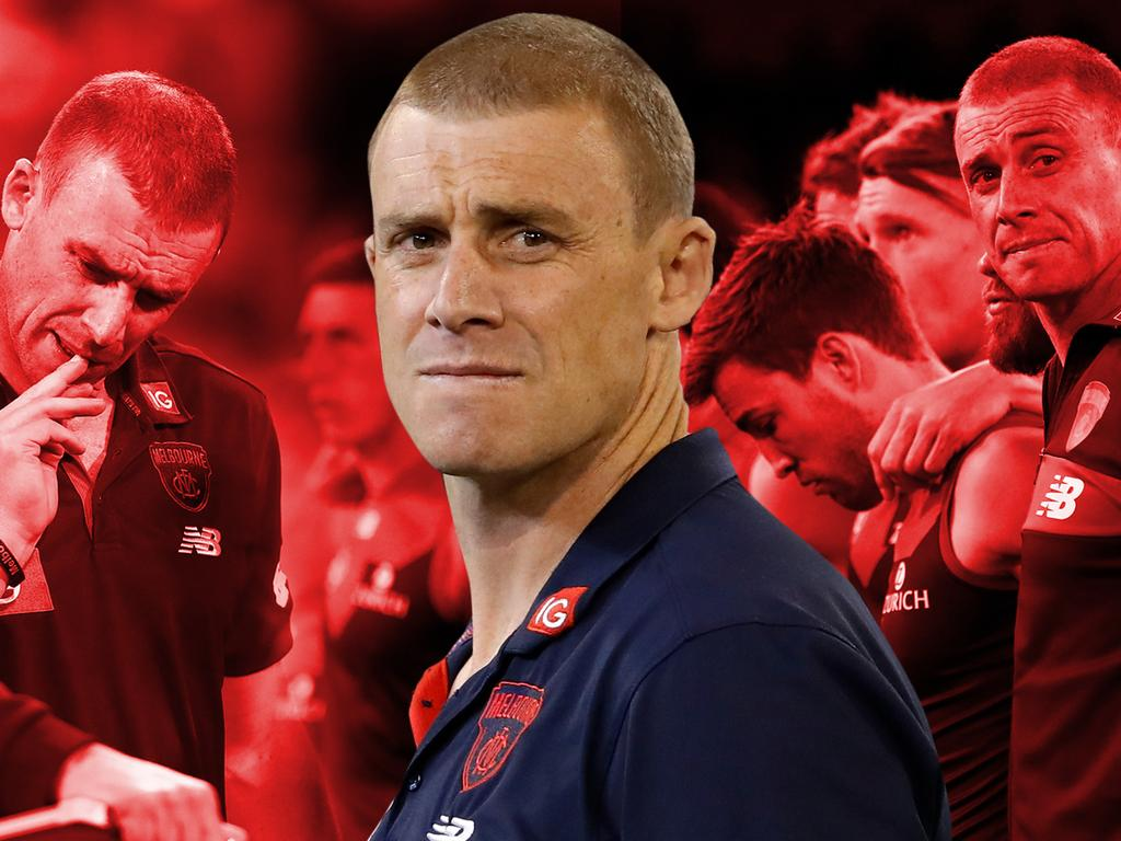 Melbourne coach Simon Goodwin will lead the club into one of the biggest game's for the club this decade.