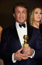Sylvester Stallone attends InStyle and Warner Bros. 73rd Annual Golden Globe Awards Post-Party. Picture: Frazer Harrison/Getty Images