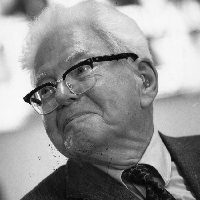 Sir Mark Oliphant in 1989.
