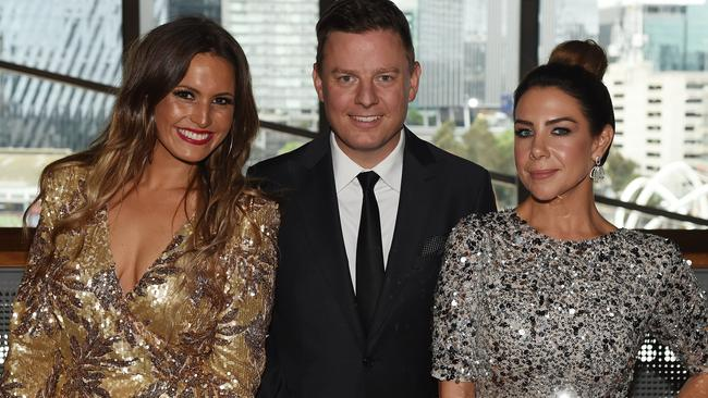 Stars arrive at Australian Commercial Radio Awards (ACRAs) in Melbourne, including Christie Hayes, Ben Fordham and Kate Richie. Picture: Josie Hayden