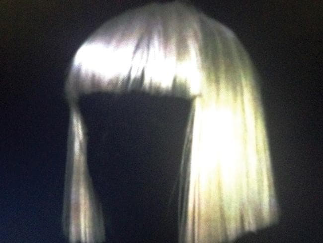 Best Cover Art nominee ... Sia's platinum wig CD cover.