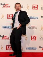 Ryan Maloney strikes a pose on the red carpet at the 2015 Logie Awards at Crown Casino in Melbourne. . Picture: Julie Kiriacoudis