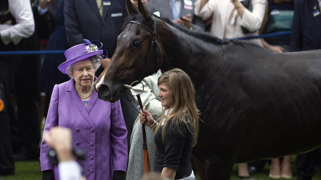 Estimate wins Doncaster Cup for the Queen but Melbourne Cup start