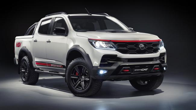 New HSV SportsCat RS to take on the Ford Ranger Wildtrak