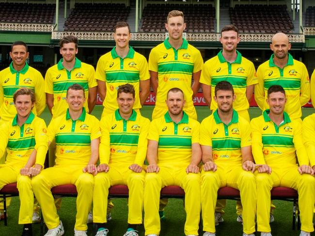 The Aussie cricket team went retro for its ODI series against India