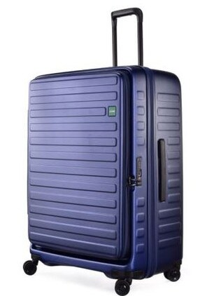 This new Lojel Cubo hardsided spinner luggage is now $389, 40 per cent off.