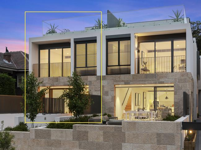 1/53 Reynolds Street, Cremorne is the last home to sell in the Reynolds Terraces project.