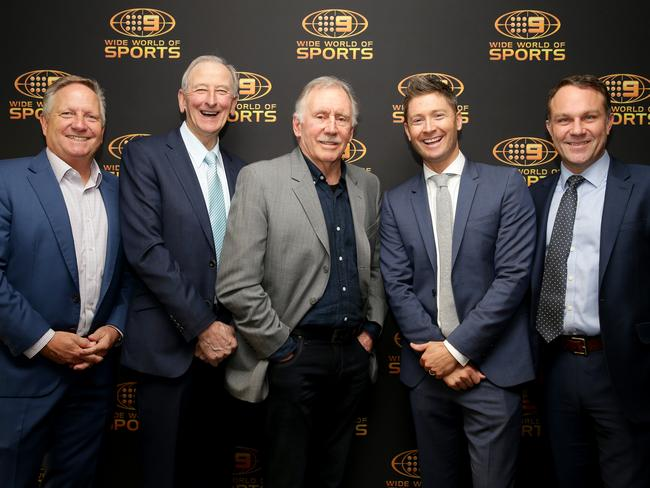 The iconic Channel 9 commentary team.