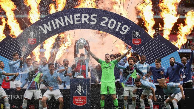6d11b121d Manchester City decimate Watford 6-0 to claim stunning treble