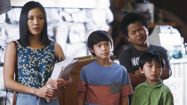 As the spirited Jessica Huang in Fresh Off The Boat. Picture: Jordin Althaus/AP Photo/ABC