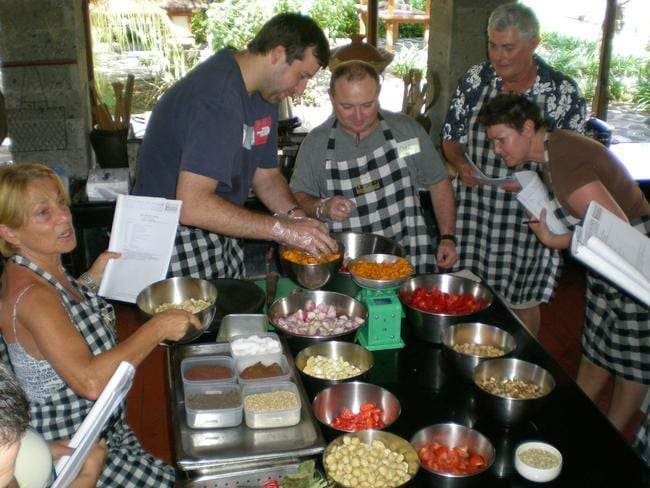Learn to cook Balinese cuisine and impress your friends at home.