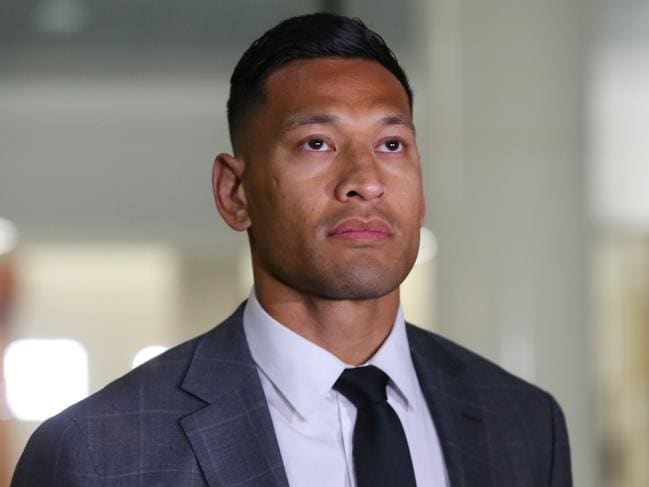 Folau and RA's battle has come to an end.