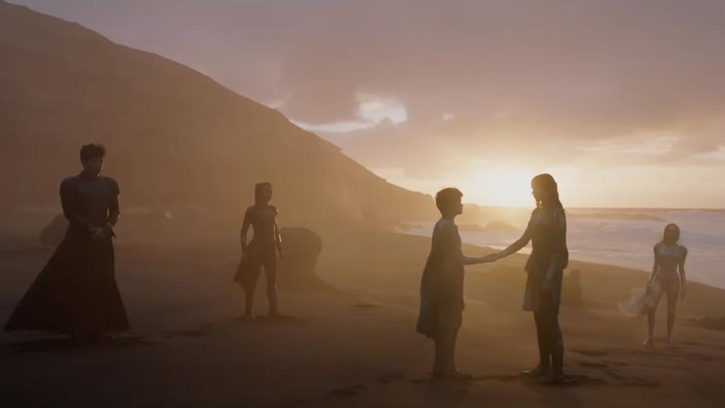 Eternals was filmed in late-2019.
