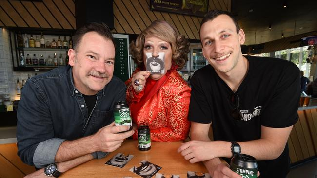 Lehmo, Michael Shafar and Dolly Diamond will join forces for tonight's Cans and Comedy for a Cause. Picture: Tony Gough