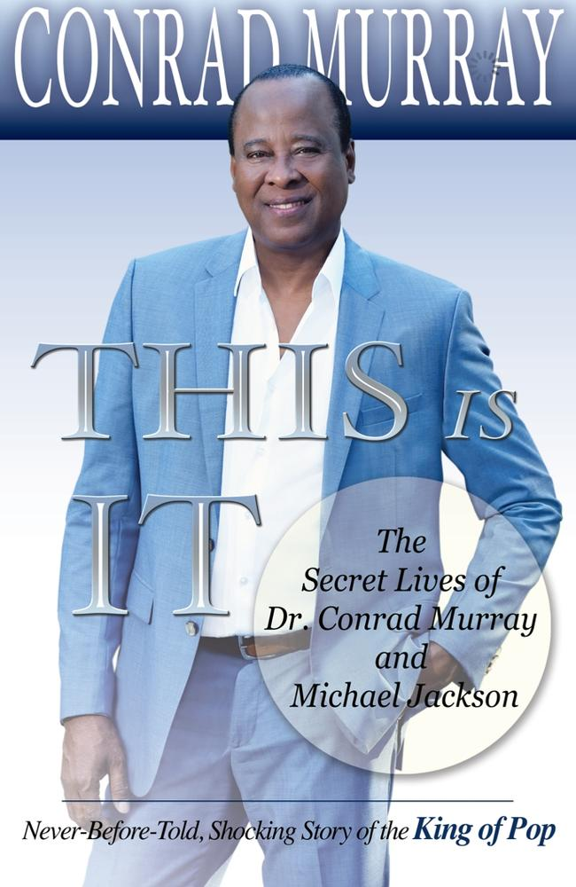 The cover of Conrad Murray's book 'This Is It'.