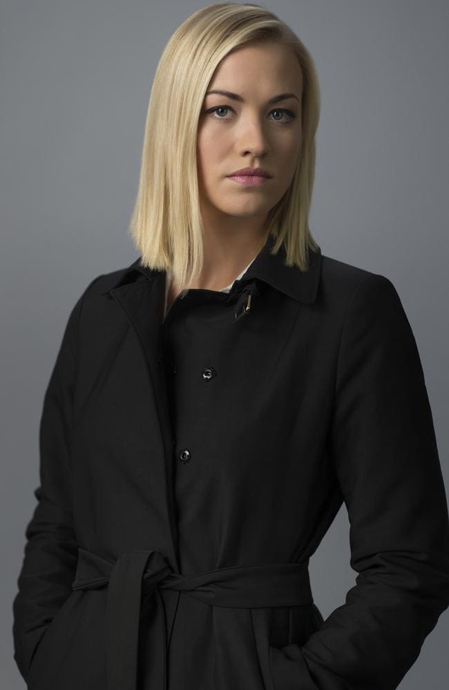 """Very intelligent and really raw' ... Yvonne Strahovski in 24: Live Another Day."