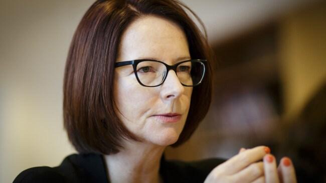 Julia Gillard during a meeting on January 29, 2018 in Berlin, Germany. Photo by Inga Kjer/Photothek via Getty Images.
