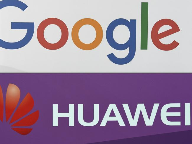 Google says some of its services may no longer be available on Huawei smartphone after the US ban. Picture: AFP