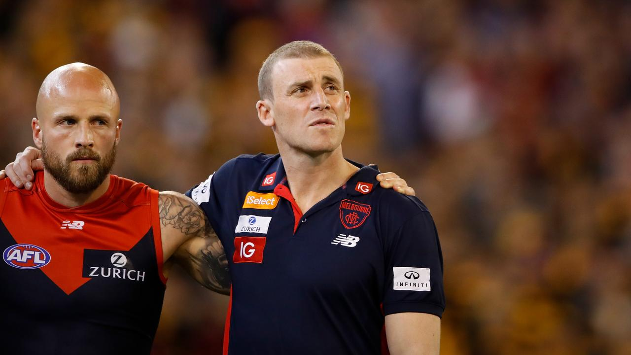 Melbourne coach Simon Goodwin could be set for a contract extension.