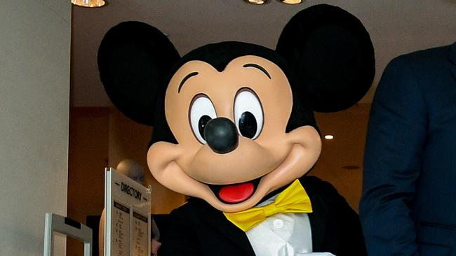 Mickey Mouse was a signatory on the climate crisis petition. Picture: AAP.
