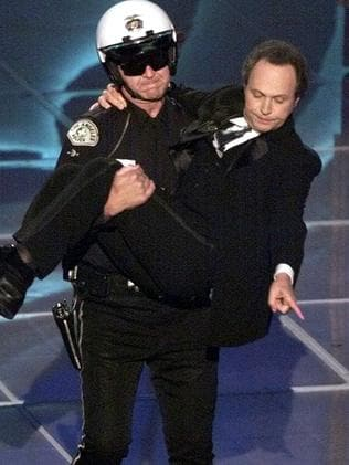 Billy Crystal during the Oscars in 2000.