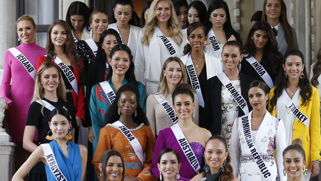 Bildergebnis für Miss Universe Pageant boasts all female judging panel,1st Time in 67 Year Pageant History