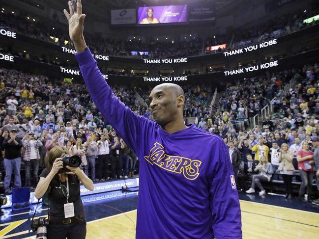 Kobe Bryant will be deeply missed.