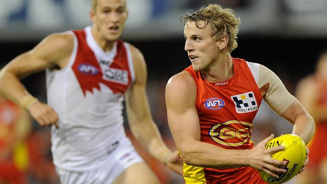 Gold Coast's Trent McKenzie says his team can match it with Geelong on Saturday night.
