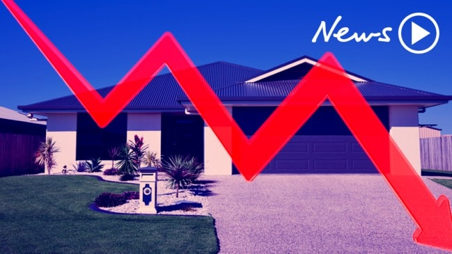 Housing market price falls: House prices could fall by up to 50%