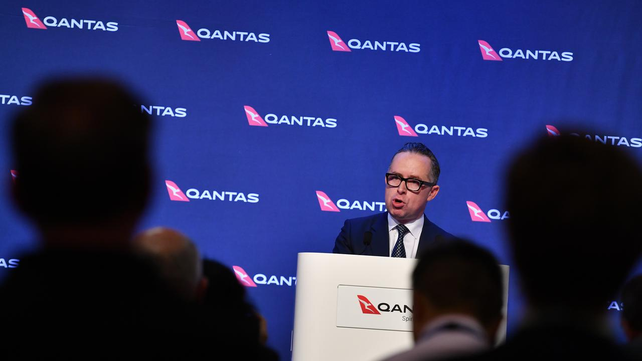 "Qantas Chief Executive Officer Alan Joyce says he's ""quite happy"" with Rugby Australia's verdict of Israel Folau."