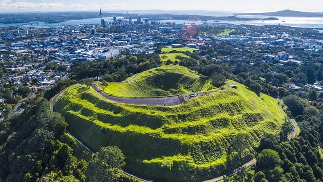 Aerial view of Mt. Eden, Auckland Skyline, New Zealand. Picture: Istock
