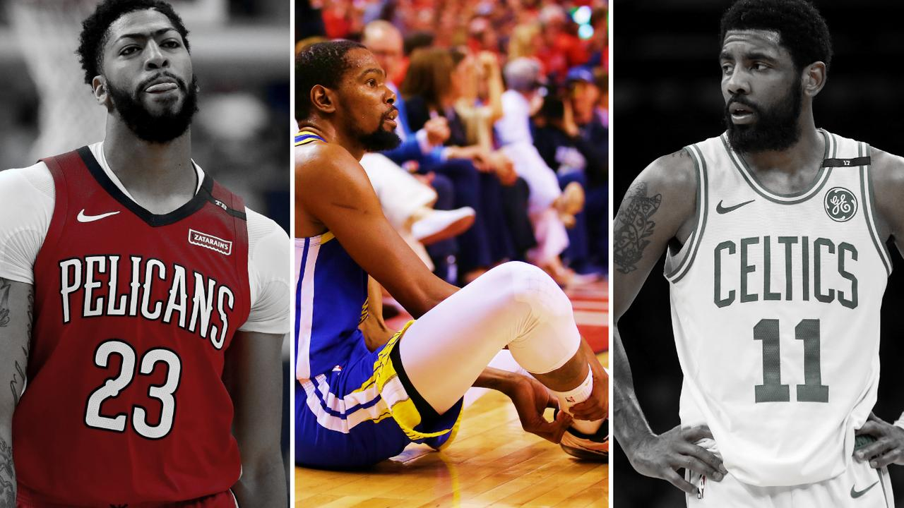 How Kevin Durant injury turns NBA free agency on its head.