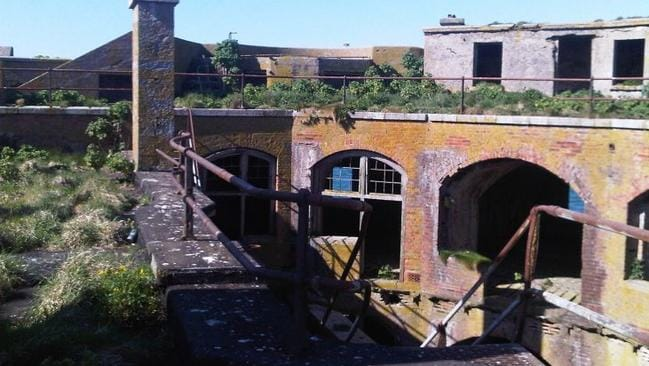 It was abandoned in 1918 and has changed hands several times. Picture: Wales News Service/australscope